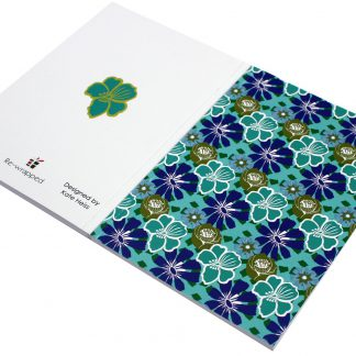 ECO Friendly Recycled Notebook Tropical by Kate Heiss