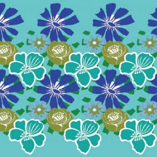 ECO Friendly Recycled Wrapping Paper Tags Tropical by Kate Heiss