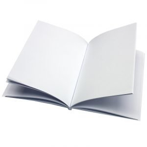 Re-wrapped: ECO Friendly Notebooks Plain made from 100% Unbleached Recycled Paper