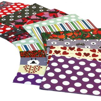ECO Friendly Recycled Wrapping Paper Re-wrapped Birthday Pack