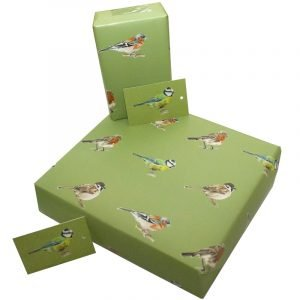 Re-wrapped: ECO Friendly Birthday Wrapping Paper Native Birds by Sophie Botsford made from 100% Unbleached Recycled Paper