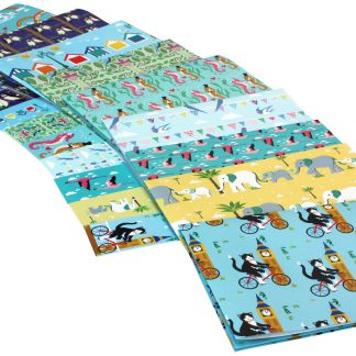 ECO Friendly Recycled Wrapping Paper Vicky Scott Birthday Pack