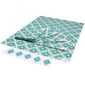 Re-wrapped: ECO Friendly Wrapping Paper Italian Terrazzo by Kate Heiss made from 100% Unbleached Recycled Paper