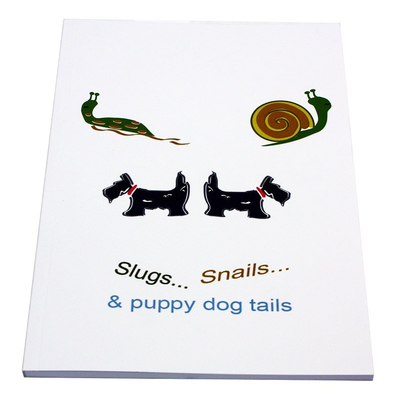 Re-wrapped: ECO Friendly Notebooks Children's Slugs & Snails by Tracy Umney made from 100% Unbleached Recycled Paper