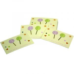 Re-wrapped: ECO Friendly Wrapping Paper Tags Childrens Sugar & Spice by Tracy Umney made from 100% Unbleached Recycled Paper