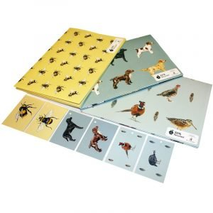 Re-wrapped: ECO Friendly Wrapping Paper Country Bundle by Sophie Botsford made from 100% Unbleached Recycled Paper