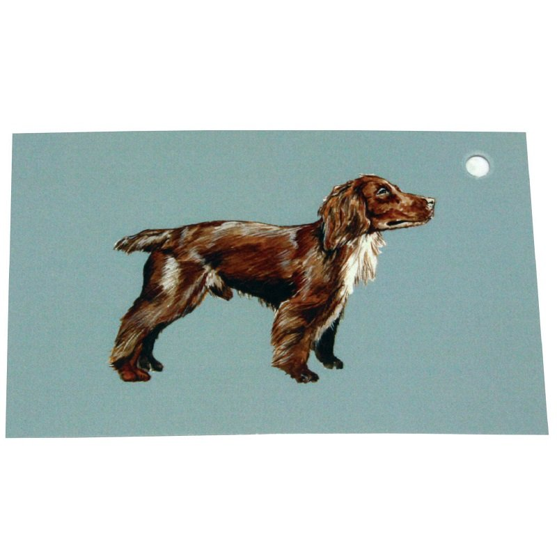 Re-wrapped: ECO Friendly Wrapping Paper Tags Spaniel Dogs by Sophie Botsford made from 100% Unbleached Recycled Paper