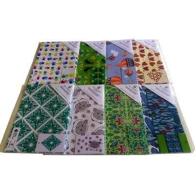 Re-wrapped: ECO Friendly Birthday Wrapping Paper Fold Sheet Delivery Option